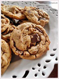 Brown Butter Salted Caramel Cookies