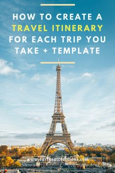 Find a fun itinerary for Paris as a first-time visitor. Where to go and what to do in Paris, France. From free activities to fun tours, there is something for everyone. travel tips Europe Destinations, Europe Travel Tips, European Travel, Travel Advice, Travel Guides, Travel Plan, Travel Hacks, Paris Travel Tips, Travel Trip