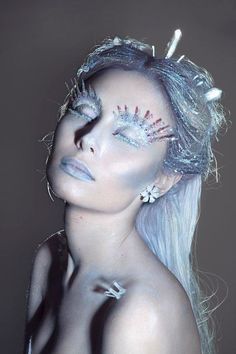 how to do ice queen makeup - Google Search
