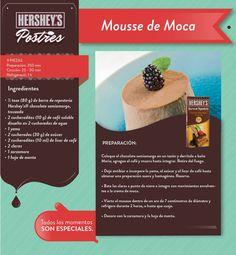 Delicias al instante. #Hersheys #Recetas #Postres #Repostería #Chocolate #Ideas
