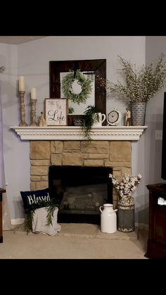 100 Room Makeover Fireplace Mantel Inspiration Decoration