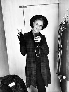 #simi #set #style #grunge #punk #fashion #plaid#beanie#model#girl#inspire#majasabelwska