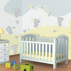 Walltastic Tiny Tatty Teddy Room Decor Kit - http://godecorating.co.uk/walltastic-tiny-tatty-teddy-room-decor-kit/