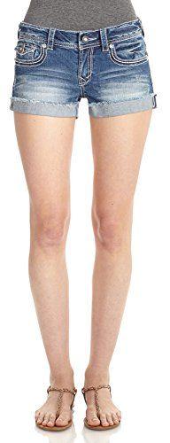 WallFlower Juniors Heavy Stitch Denim Shorts in Claire Size: 1 WallFlower Jeans http://www.amazon.com/dp/B00LAJL41E/ref=cm_sw_r_pi_dp_WjnBub18TBRME