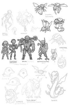 Phantasy star monsters