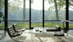 Philip Johnson Glass House, photo by Eirik Johnson