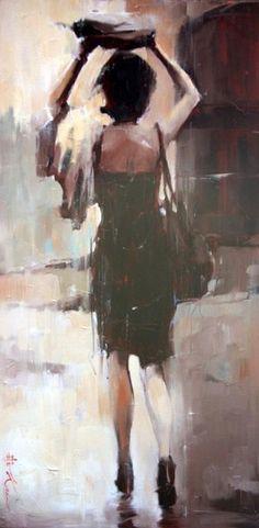 Andre Kohn, 1972 ~ Ladies and hats | Tutt'Art@ | Pittura * Scultura * Poesia * Musica | :)