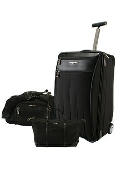 Crossfire 3-Piece Luggage Set Nice Valentine gift for the Crossfire owner