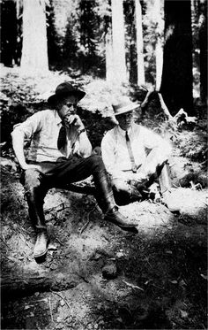 Stephen Mather | File:Stephen Mather and WB Lewis in Yosemite in 1925.jpg - Wikipedia ...