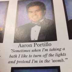 The Interesting Hobby Quote: | The 38 Absolute Best Yearbook Quotes From The Class Of 2014 WHAT EVEN!