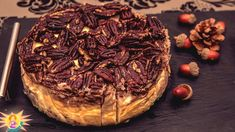 Keto pecan pie cheesecake its yummy Keto Pecan Pie Recipe, Pecan Pie Filling, Pecan Pie Cheesecake, Cheesecake Recipes, Fudge Recipes, Keto Recipes, Dessert Recipes, Best Pecan Pie, Carlsbad Cravings