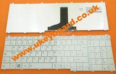 TOSHIBA Satellite C650 L650 L670 Laptop Keyboard UK White  http://www.ukeyboard.co.uk/toshibasatellitec650l650l670laptopkeyboardukwhite-p-4047.html