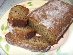 Banana bread. Can't think of a finer thing to do with some ageing bananas.