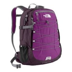 """The North Face Borealis.  $79.99 - $124.01            Free of embellishment, this sleek daypack boasts two large zip pockets so you can stash gear quickly and hit the road. The main compartment features a padded laptop sleeve (fits most 17"""""""" laptops), and an almost equally large secondary zip pocket with built-in organization..."""