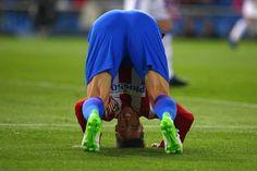 L'attaquant de l'Atlético de Madrid Fernando Torres a enchaîné deux ratés contre la Real Sociedad ce mardi lors de la 30e journée de Liga..