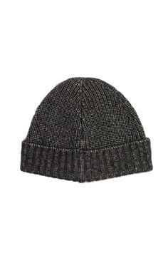 Luxe Beanie Hat in Brown