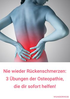 Never again back pain! What& wrong with osteopathy? Was es mit der Osteopathie auf sich hat, wie du ein… Never again back pain! What Osteopathy Is About, How to Find a Good Therapist – Plus Three Exercises for It - Health Goals, Health Motivation, Health Tips, Health And Wellness, Health Fitness, Fitness Workouts, Fitness Goals, Yoga Fitness, Fitness Photos