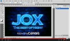 Tutorial Photoshop efecto Texto de Neón http://www.photoshop-designs.net/2014/02/tutorial-photoshop-efecto-texto-de-neon/