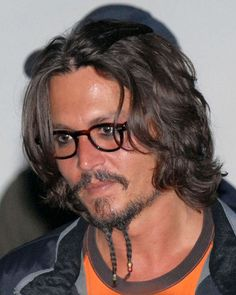 Johnny depp.  I guess that goes to show ANYONE can have a bad hair day!  ;-)