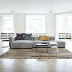 Mags Sofa Configuration 07 by HAY