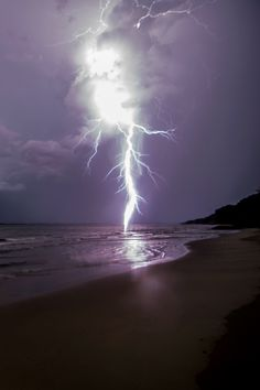 Southern Maryland Lightning Storm by Keith Burke