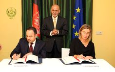cool Afghanistan,EU Sign Partnership & Development Contracts http://Newafghanpress.com/?p=22327 Afghanistan-and-EU-cooperation-agreement