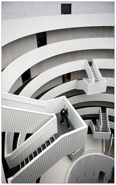 Inside the Gemini Towers in #Copenhagen #Denmark. Before the three silos were used for a Soya Bean Cake Factory. Today its used as a residential building with apartments.
