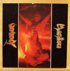 VENOM - Manitou - mint minus minus - Vinyl LP 1984 - Rare Black Metal EP