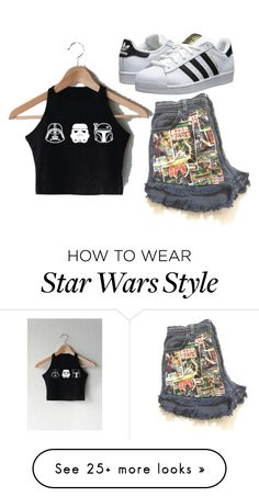 """""""Star wars"""" by kitty1201030 on Polyvore featuring adidas Originals"""