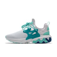 Nike React Presto By You Zapatillas personalizables - Hombre. Zapatos Nike Air, Zapatillas Nike Air, Sneakers Mode, Sneakers Fashion, Zoom Iphone, Iphone 5c, Nike Shoes Air Force, Fresh Shoes, Hype Shoes