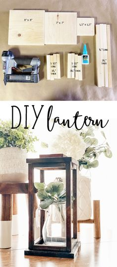 Scrap Wood Projects, Diy Projects To Try, Decor Crafts, Diy Home Decor, Wood Home Decor, Palette, Lanterns Decor, Wooden Crafts, Diy Furniture
