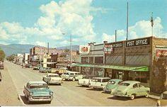 PLAINS, MONTANA in the early 1960's
