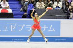 Mao Asada (JPN), .APRIL 11, 2013 - Figure Skating : .the Ladies short program during the ISU World Team Trophy 2013 in Tokyo, Japan. .(Photo by Koji Aoki/AFLO SPORT) .