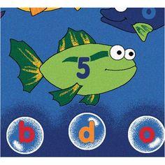 Found it at Wayfair - Literacy Fishing Kids Area Rug
