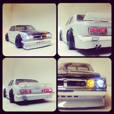 Skyline Hpi Sprint2 Rc drift car