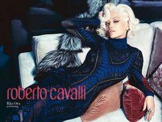 Rita Ora Becomes The Face of Roberto Cavalli