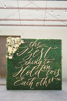 The Prettiest Ceremony Backdrops (Made Entirely of Greenery!)