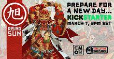 Rising Sun Kickstarter Launch Date Revealed
