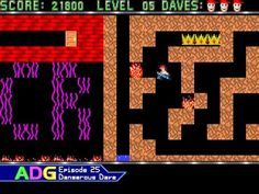 Throwback Thursday - Ancient DOS Games 25: Dangerous Dave