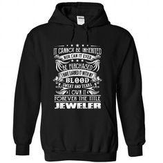 Jeweler - Job Title T Shirts, Hoodies Sweatshirts. Check price ==► http://store.customtshirts.xyz/go.php?u=https://www.sunfrog.com/Funny/Jeweler--Job-Title-ursglukduy-Black-Hoodie.html?41382