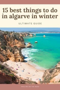 Is Algarve, Portugal on your Europe bucket list? Consider visiting Algarve in the winter! Here are 15 fun things to do in Algarve in winter that will have you booking your Portugal vacation… More Best Beaches In Portugal, Portugal Vacation, Hotels Portugal, Places In Portugal, Portugal Travel Guide, Visit Portugal, Europe Travel Guide, Top Travel Destinations, Places To Travel