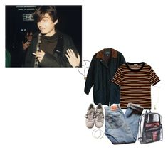 """""""alex james, light of my life"""" by katrinaballerina ❤ liked on Polyvore featuring Polo Ralph Lauren, Sonia Rykiel, Levi's, adidas, H&M, French Kande, grunge, 90s and BritPop"""