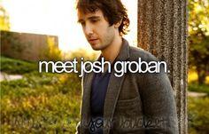 Meet Josh Groban