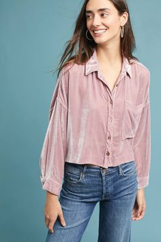 Shop the Mara Hoffman Velvet Buttondown and more Anthropologie at Anthropologie today. Read customer reviews, discover product details and more.