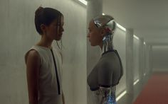 On Thursday I got to see the movie Ex Machina. Ex Machina is a somewhat unknown indie sci-fi thriller that has been getting a lot of buzz by critics at film Steve Rose, Human Like Robots, Script Analysis, Alex Garland, Sci Fi Films, Alicia Vikander, Arts And Entertainment, Artificial Intelligence, Videos