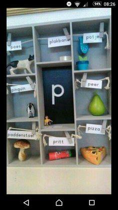 Letterkastje, elk thema een nieuwe letter en elke week nieuwe voorwerpen!