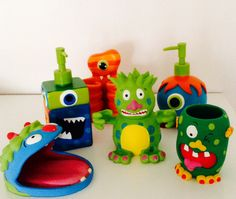 Kid S Monsters Bathroom Collection