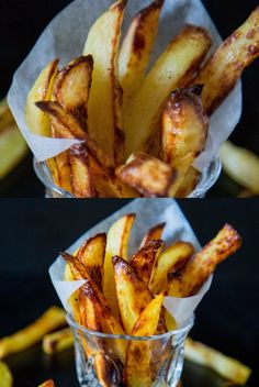 These crispy baked potato wedges or oven-baked potato wedges make a perfect side dish. Crispy on the outside, soft tender on the inside but baked, not fried Crispy Baked Potatoes, Potatoes In Oven, Baked Potato Oven, Crispy Baked Potato Wedges, Crispy Oven Fries, Fries In The Oven, Best Appetizers, Appetizer Recipes, Snack Recipes