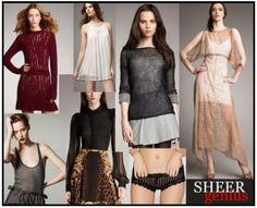 SHEER GENIUS  #fashion