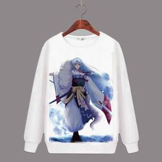 Animation Source: Japan Anime: Inuyasha Material: Cotton Source Type: Anime Product: Sweatshirt